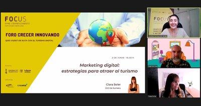 Soler habla de la Comunicación y marketing como un todo para asegurar éxito de cualquier estrategia dentro del sector del turismo
