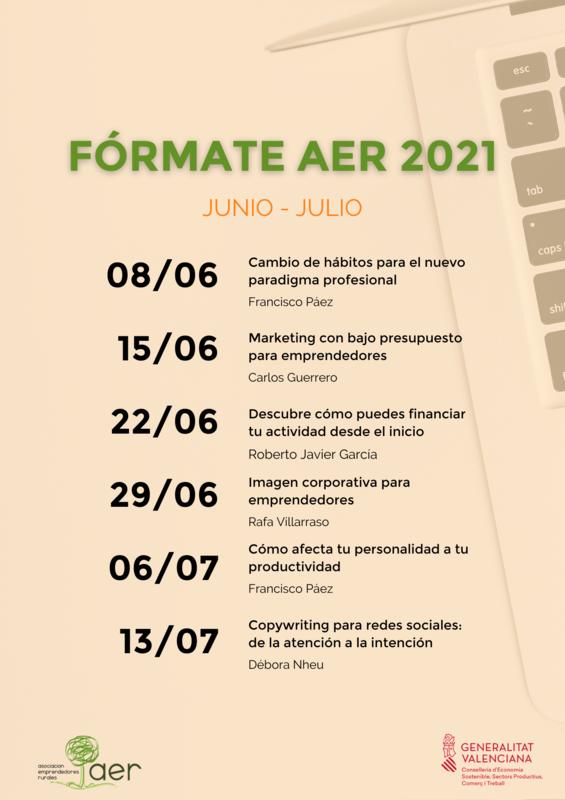 Programa Fórmate AER 2021