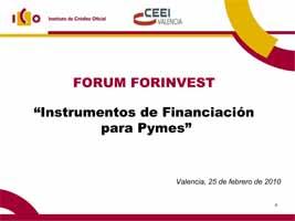 """""""Instrumentos financiación para pymes (ICO, ENISA y CDTI) (Presentaciones)"""