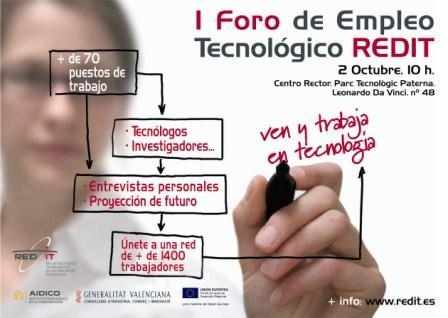 I Foro de Empleo Tecnológico de la Comunitat Valenciana