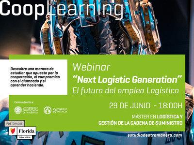 Florida Universitària celebra el Webinar  'Next Logístic Generation'
