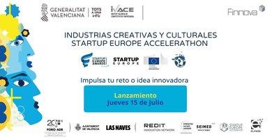"""Nueva iniciativa europea """"Startup Europe Accelerathon"""""""