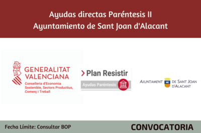 Ayudas Económicas Covid 19 - Ayuntamiento de Sant Joan d'Alacant