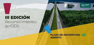 III Edición Reconocimientos go!ODS