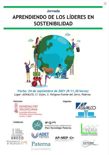 """Jornada """"Aprendiendo de los líderes en sosteniblidad"""""""