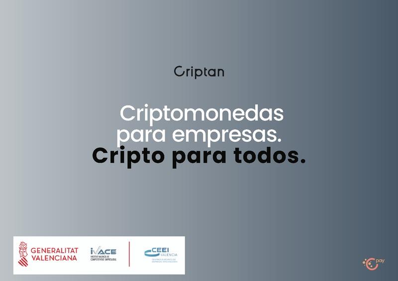 """Presentación Jorge Soriano de Criptan. """"Cripto para todos"""""""