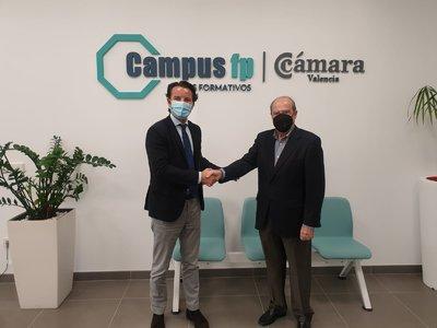 Firma Convenio CEEI Campus Cámara FP