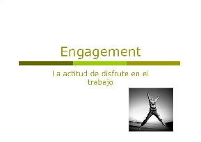 Estrategias personales para fomentar el engagement ##