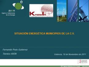 Situación energética en los municipios rurales de la CV #