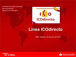 Línea ICO Directo (Presentación)