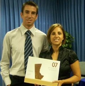 Vicente Tasso y Carolina Assadi, socios fundadores de Oceansnell