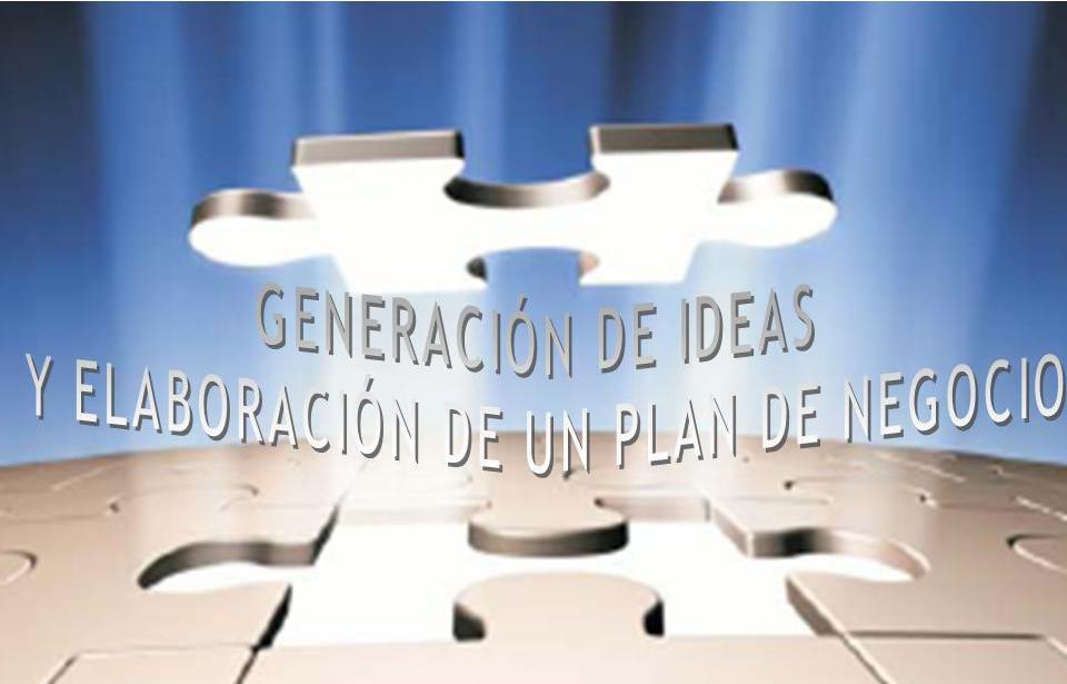 """Hoja de pre-inscripción taller: """"Generación de Ideas y Elaboración de un Plan de Negocio"""""""