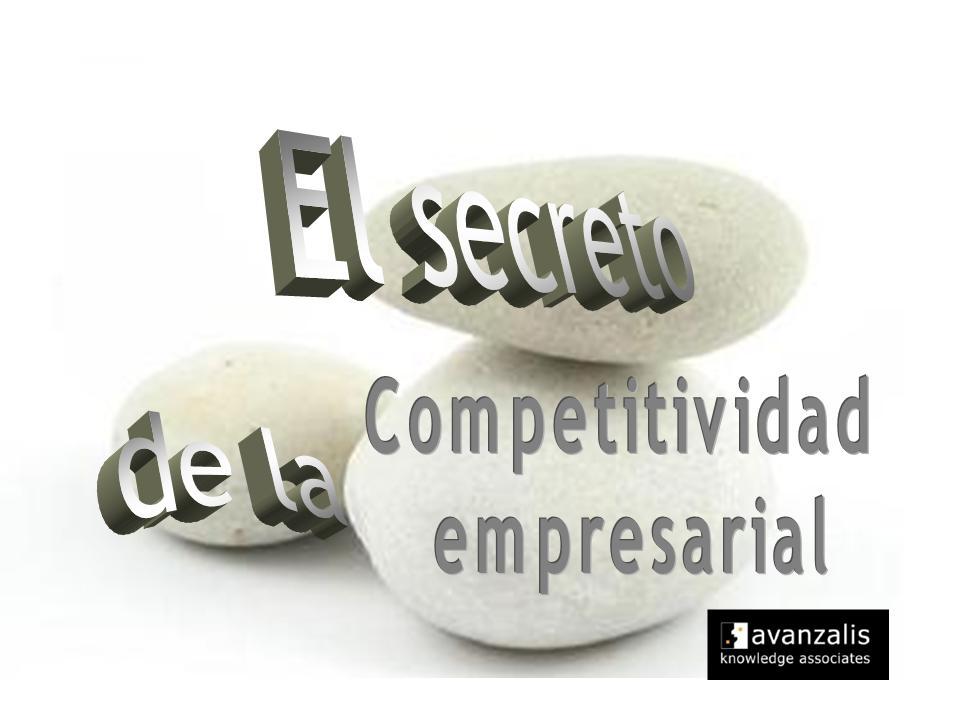 """Hoja de pre-inscripción Workshop: """"El secreto de la Competitividad Empresarial"""""""