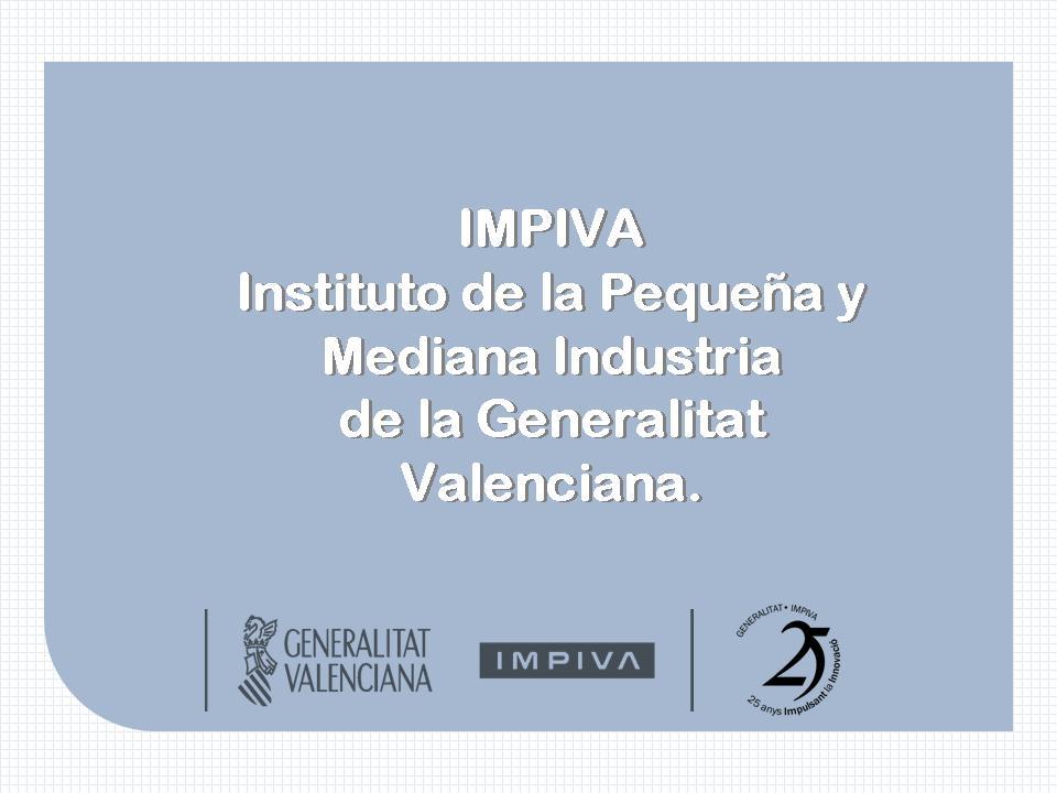 Programas IMPIVA dirigidos a emprendedores, autónomos y empresas