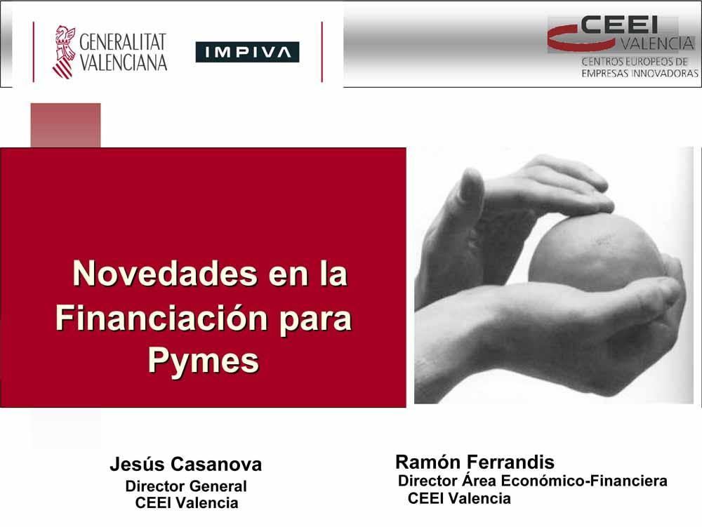"""""""Novedades en la financiación para pymes"""" (Seminario)"""