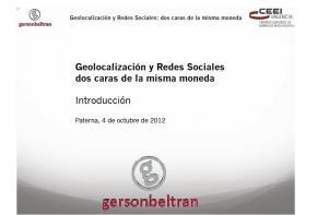 Introducci�n: Geolocalizaci�n y Redes: dos caras de la misma moneda