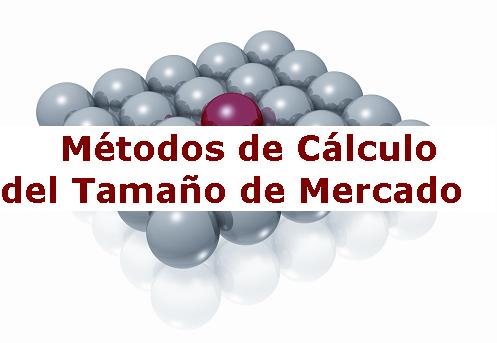 Métodos de cálculo del tamaño de mercado