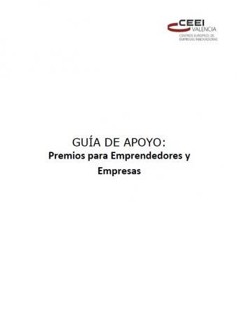 Gu�a de Apoyo: Premios para Emprendedores y Empresas