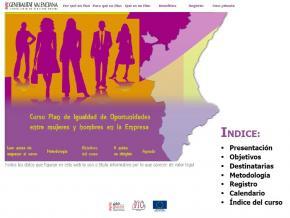 """Curso On-line: """"Elaboración e implantación de un Plan de Igualdad en la empresa"""""""