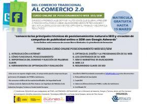 Curso online posicionamiento web SEO/SEM: GRATUITO para PYMES y AUTÓNOMOS