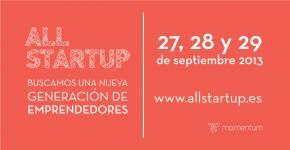 Momentum busca nuevos emprendedores: ALL STARTUP