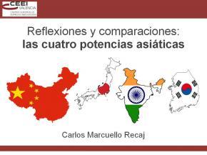 Reflexiones y comparaciones: las cuatro potencias asiáticas