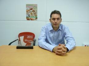 Isidro Crespo, Socio y Director Comercial de SinBlat Alimentación Saludable.