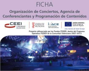 Organización de conciertos, agencia de conferenciantes y programación de contenidos