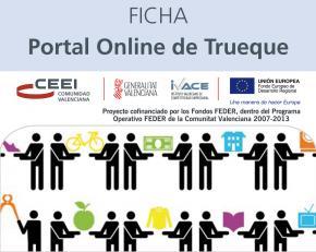 Portal online de trueque