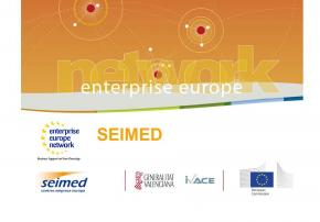 La red Enterprise Europe Network EEN-SEIMED en la Comunitat Valenciana
