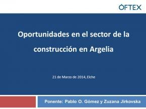 Oportunidades en el sector de la construcción en Argelia
