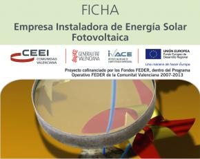 Empresa instaladora de energía solar fotovoltaica