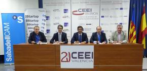 Los CEEI de la Comunitat Valenciana y Banco Sabadell