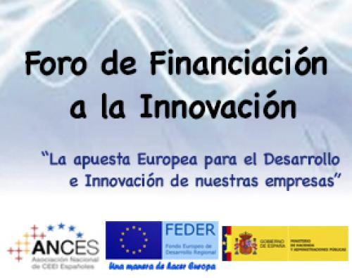Foro de Financiación a la Innovación