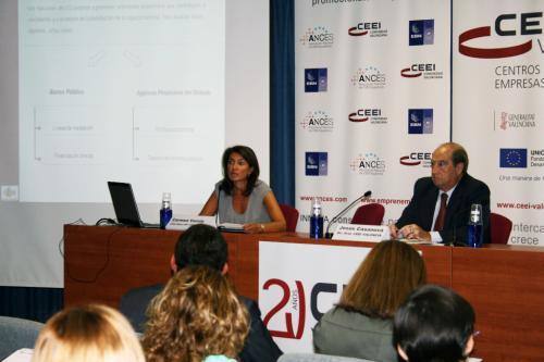 Carmen Varela hablando de Instrumentos de Financiación ICO