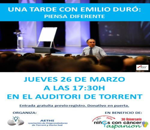 Programa Tarde Emilio Duró en Torrent