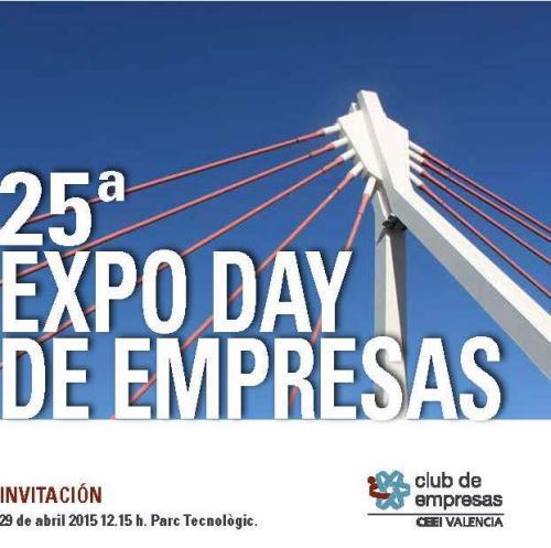 Invitaci�n al Expo Day de Empresas CEEI Valencia (25� Edici�n)