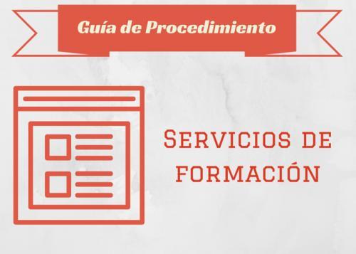 Guía Proc. Servicios de Formación