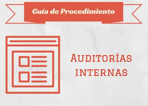 Guía Proc. Auditorías internas