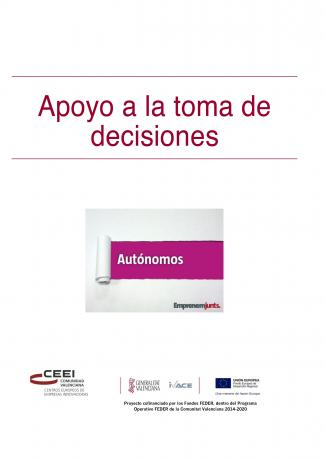 Manual para Autónomos: Apoyo a la Toma de Decisiones