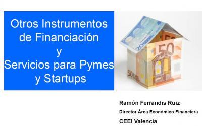 Otros Instrumentos de Financiaci�n y Servicios para Pymes y Startups