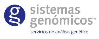 Sistemas Genómicos, s.l.