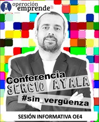Sesion informativa Operación Emprende con Sergio Ayala