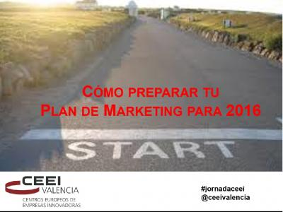 Ponencia: C�mo preparar tu Plan de Marketing para 2016