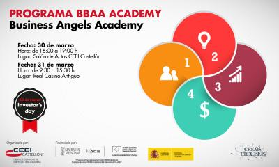 Business Angels Academy 30 y 31/03/16 CEEI Castellón