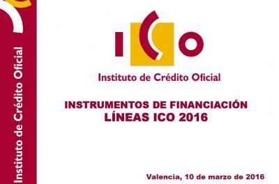 Instrumentos de Financiaci�n ICO. Instituto de Cr�dito Oficial (ICO)