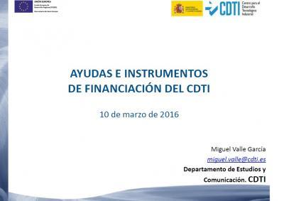 Pr�stamos CDTI: Centro para el Desarrollo Tecnol�gico Industrial (CDTI)