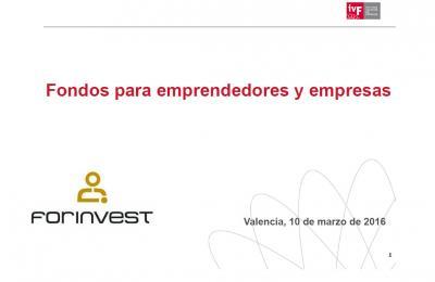 Fondos para emprendedores y empresas (IVF)