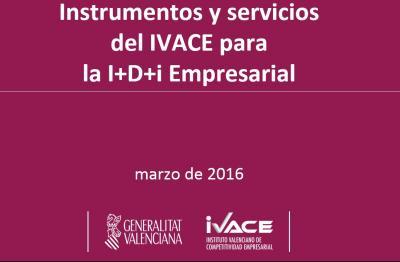 Fondos para I+D+i en las empresas. IVACE