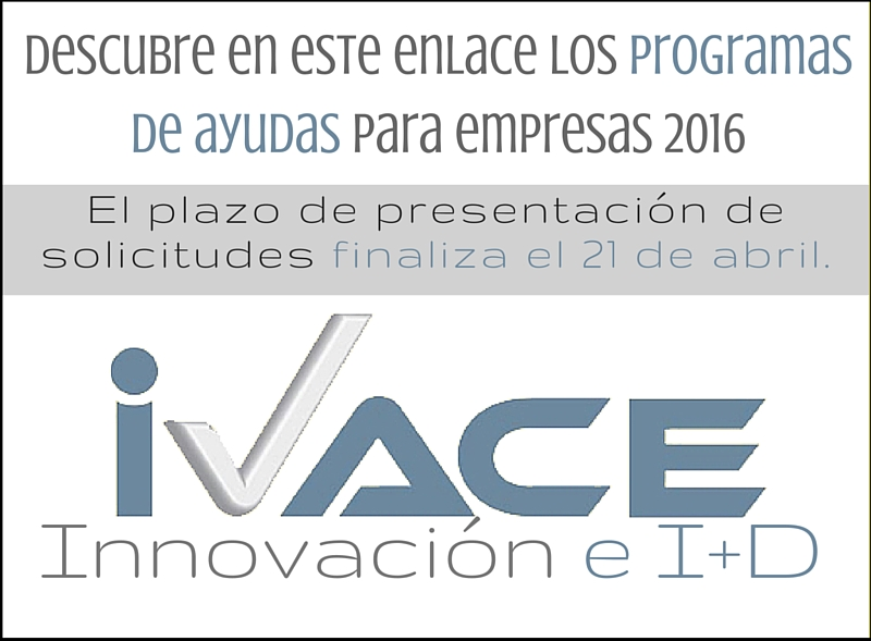 cartel home i+d ivace 2016